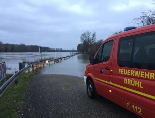 07. Januar 2018, Wachbereitschaft Hochwasser