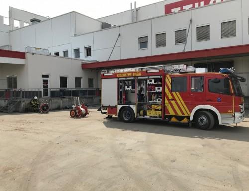 10. April 2018, Einsatz Brandalarm