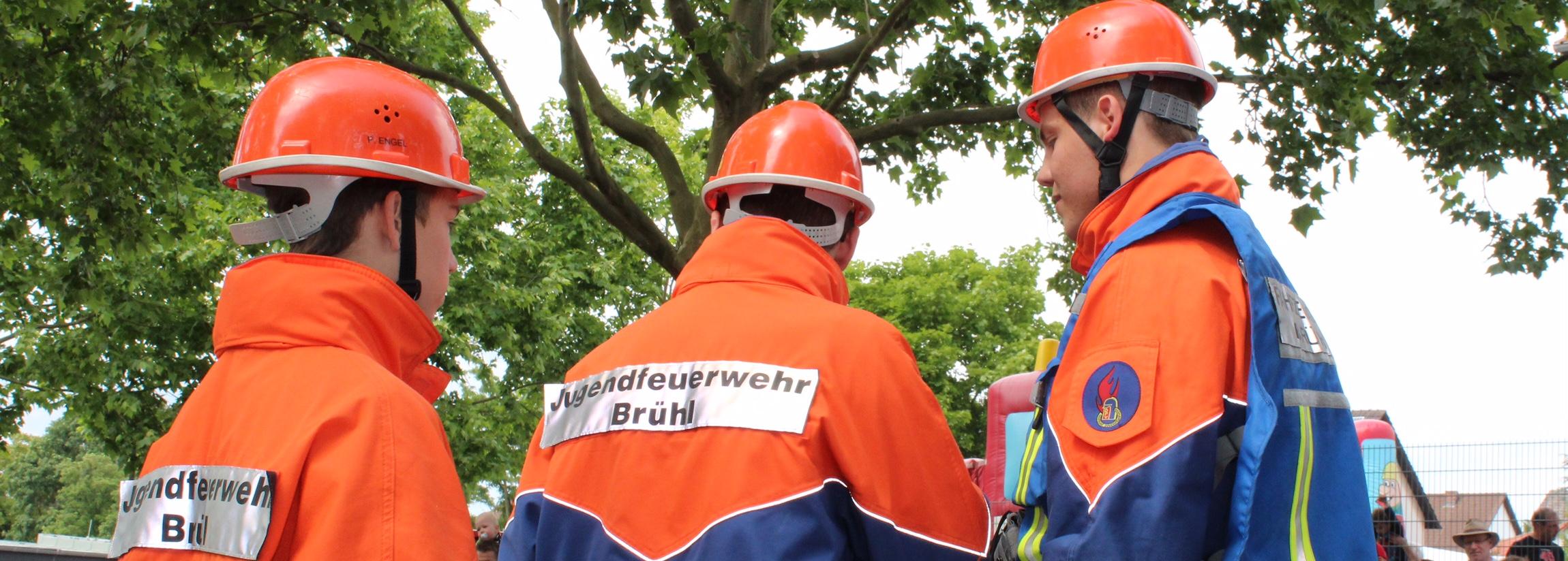 Jugendfeuerwehr Brühl Logo