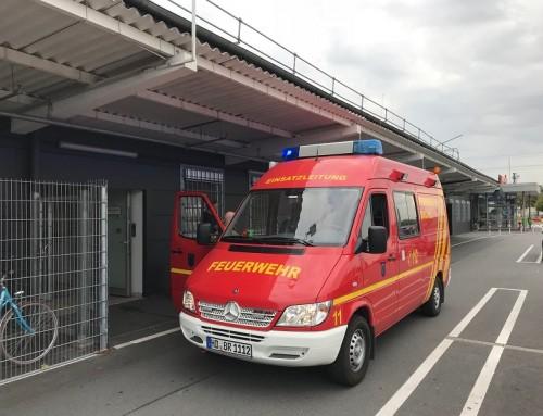 15 . August 2018, Einsatz Brandalarm