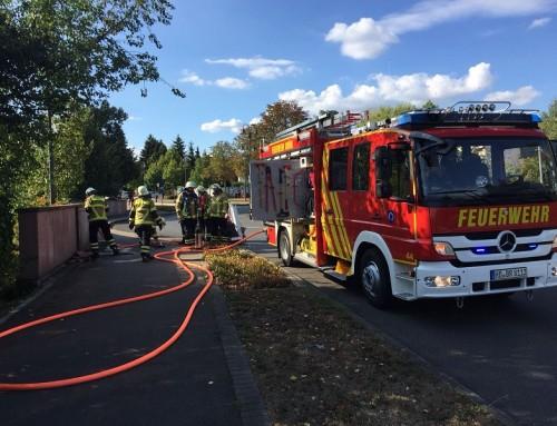 14. August 2018, Einsatz Brandalarm