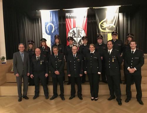 13. Oktober 2018, Familien- und Ehrungsabend der Feuerwehr Brühl