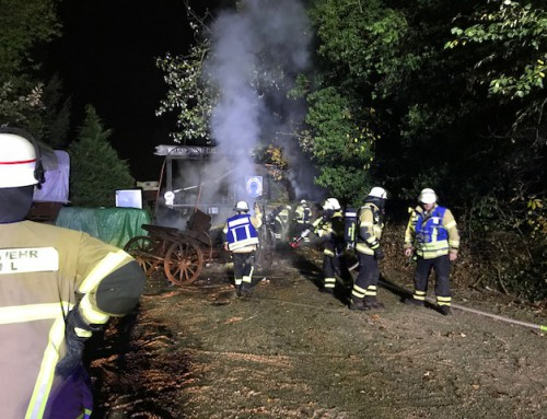 20. Oktober 2018, Einsatz Brandalarm