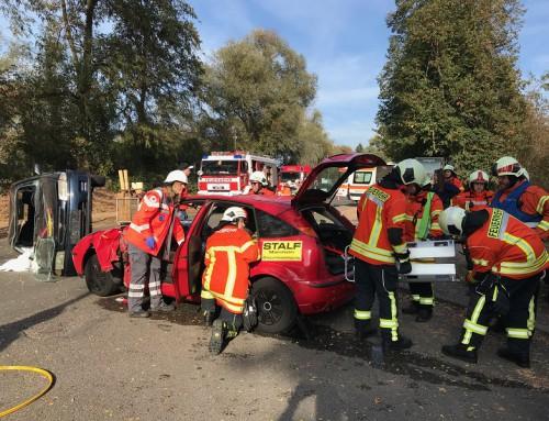 20. Oktober 2018, Hauptübung der Feuerwehren Ketsch und Brühl