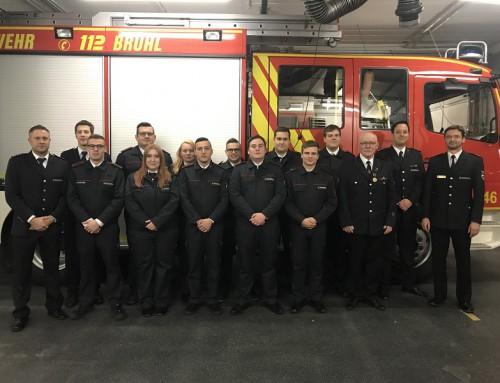 16. März 2019, Hauptversammlung der Feuerwehr Brühl 2019