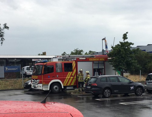 11. Juli 2019, Einsatz Brandalarm