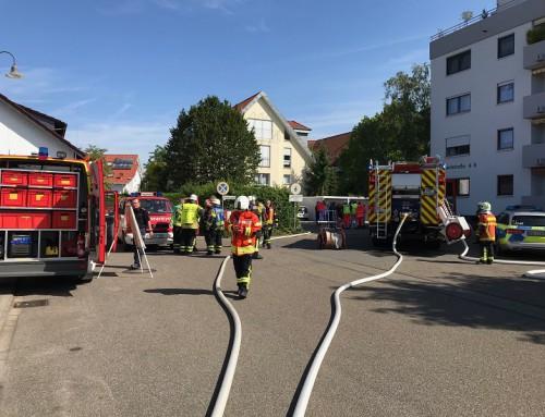 10. Juli 2019, Einsatz Brandalarm