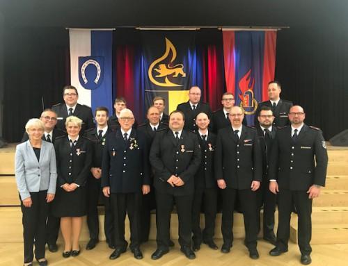 Familien- und Ehrungsabend der Freiwilligen Feuerwehr Brühl