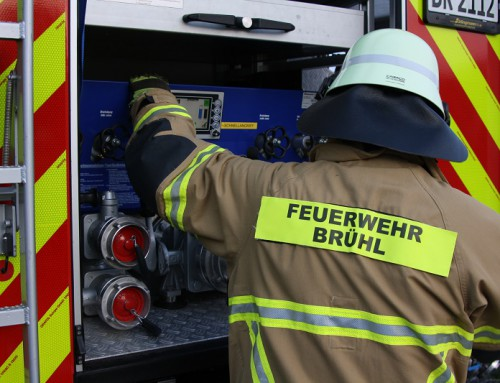 31. Oktober 2019, Einsatz Brandalarm