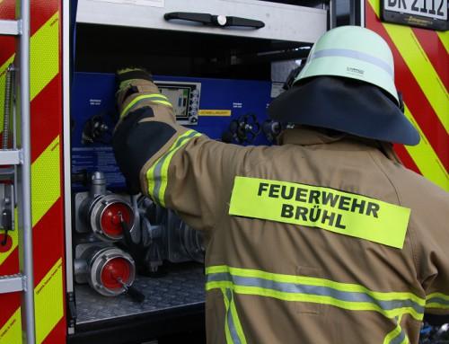 11. November 2019, Einsatz Brandalarm
