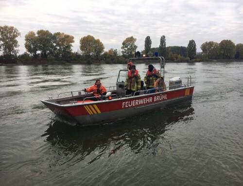 18. Oktober 2020, Einsatz Rheinalarm