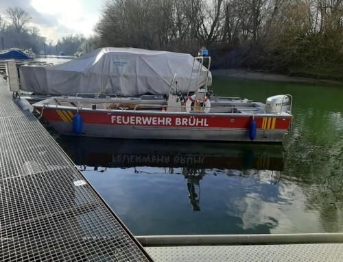 09. Januar 2021, Mehrzweckboot wieder einsatzbereit