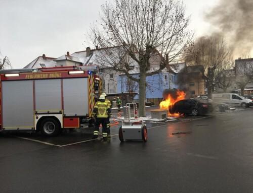 11. Februar 2021, Einsatz Brandalarm