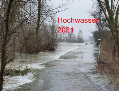 06. Februar 2021, Update Hochwasser 08 / Bitte die abgesperrten Bereiche nicht Betreten