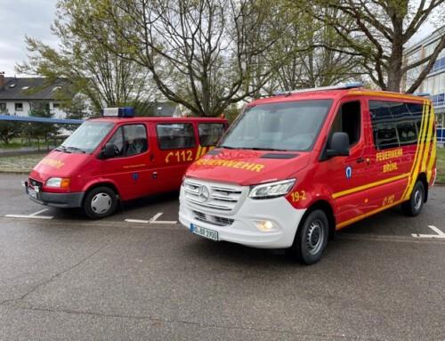 07. April 2021, Neues Fahrzeug für die Feuerwehr Brühl